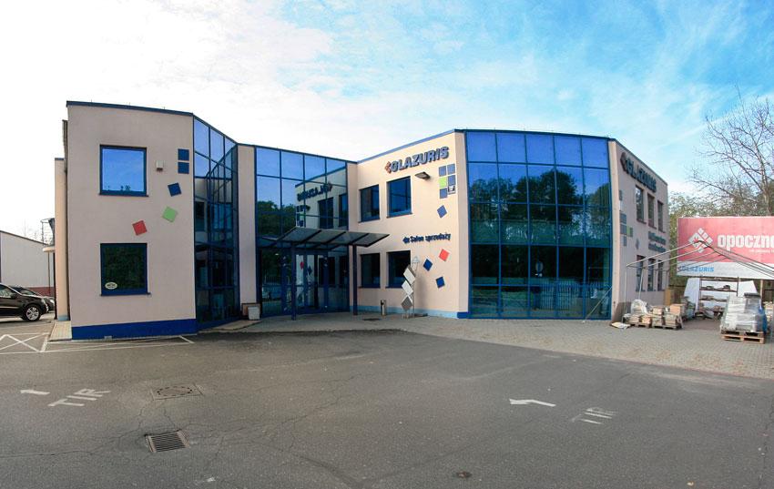 Realizacja przebudowy centrum GLAZURIS