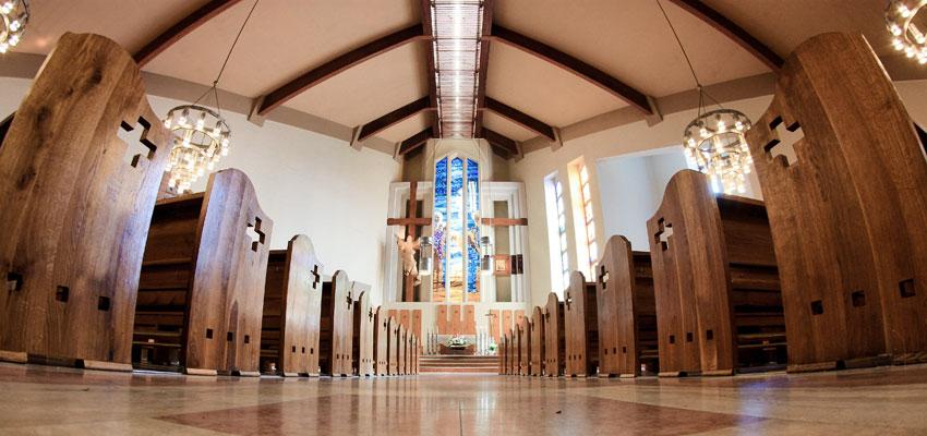 Sala kościoła pw. Św. Józefa w Nowej Soli