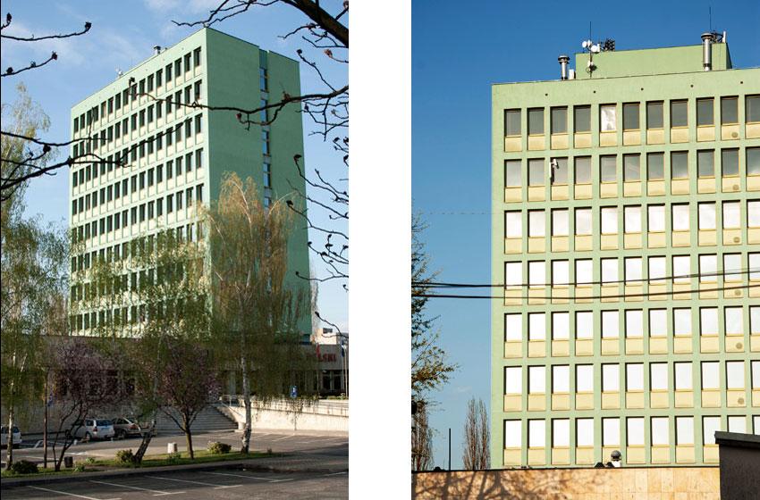 Bank NBP w Zielonej Górze - projekt MIKMAK architekci
