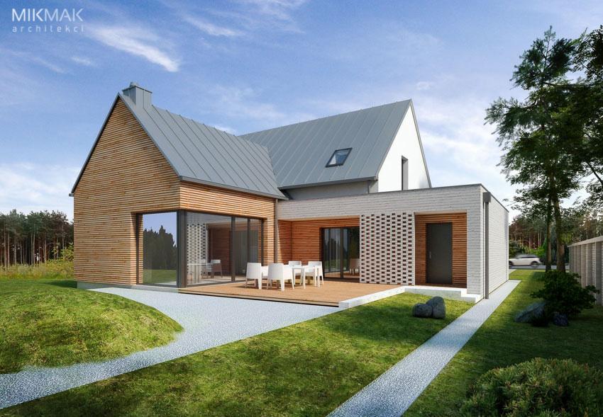VIVO - projekt nowoczesnego domu jednorodzinnego