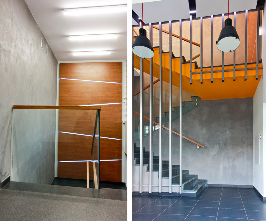 Modernizacja schodów w salonie Renault