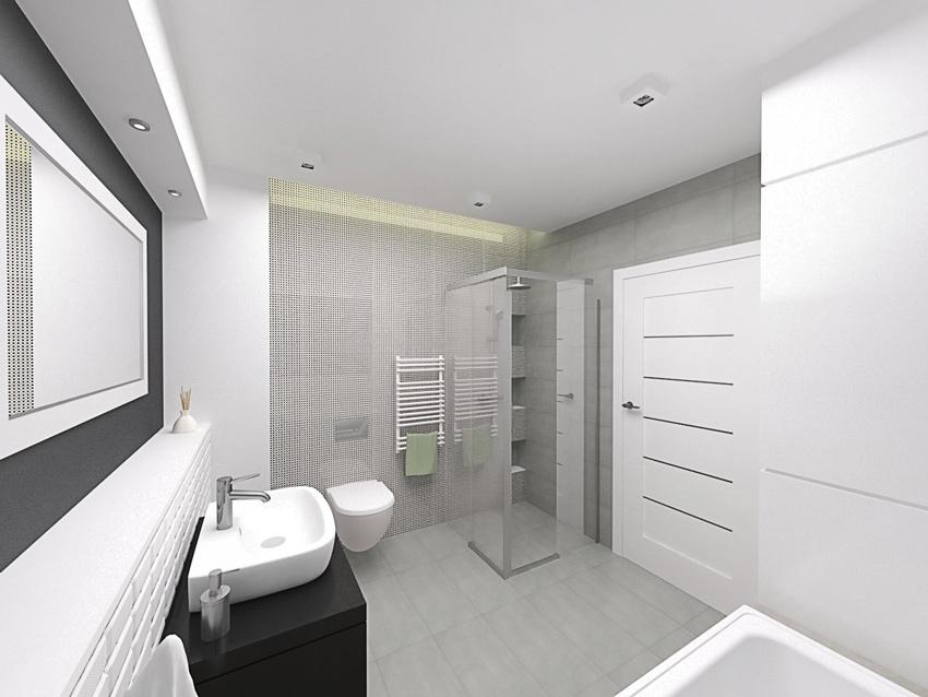 Projekt łazienki Mikmak Architekci